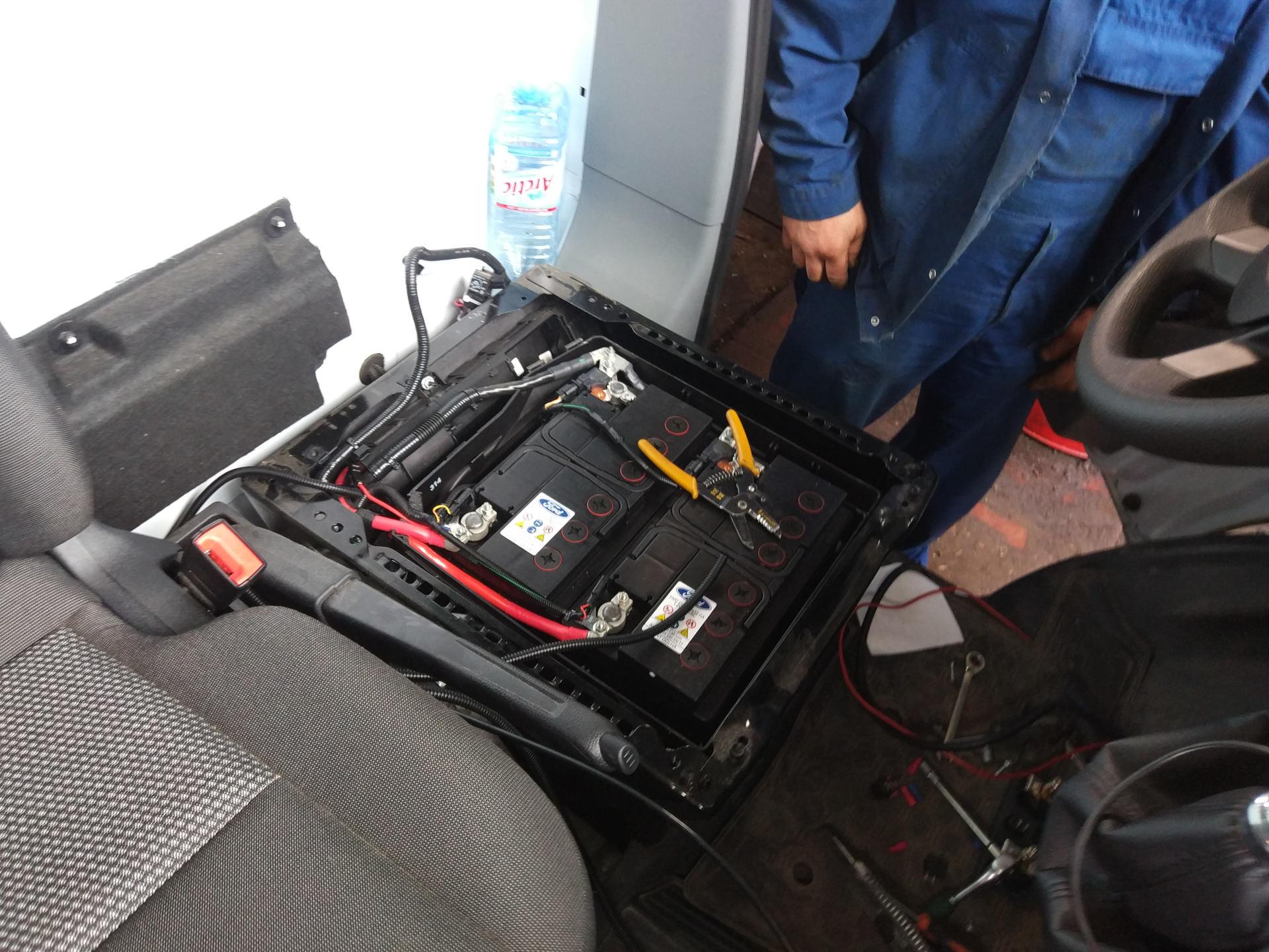 Подготовка к монтажу системы подачи воздуха
