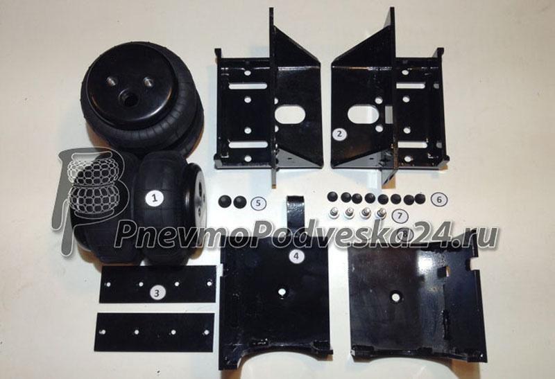 Пневмоподушки задние для усиления рессор Спринтер 515 (5 серия)