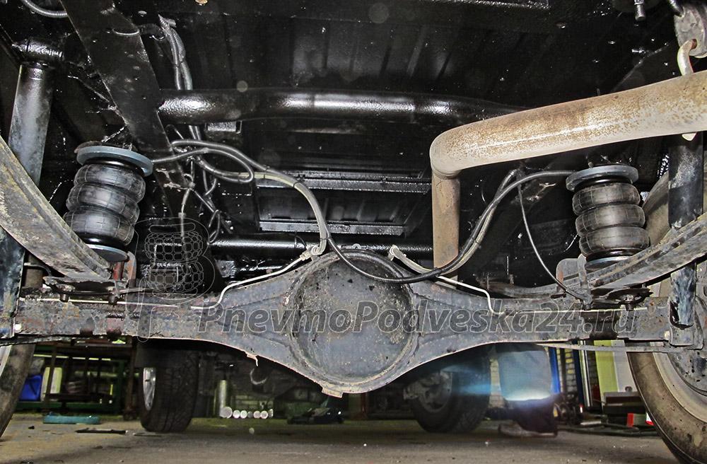 Задняя пневмоподвеска на ГАЗ 27527, 22177 Соболь