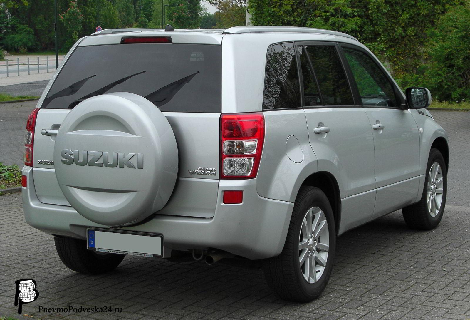Пневмоподвеска на Сузуки Гранд Витара (Suzuki Grand Vitara) задняя.