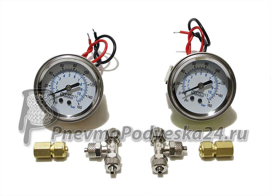 Система контроля давления манометры.