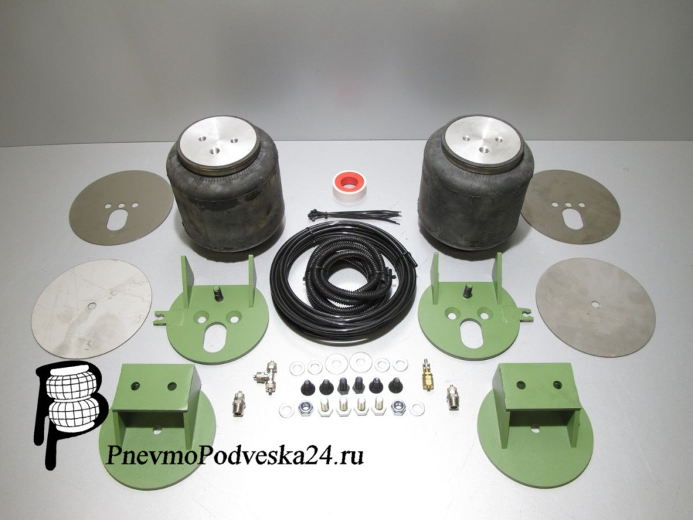Пневмоподвеска на ГАЗ Соболь Баргузин 4х4 (Передняя ось) Комфортная.