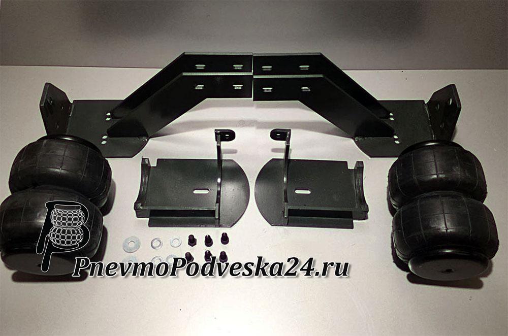 Пневмоподвеска на Iveco Evrocargo 75e17 (еврокарго), задняя ось