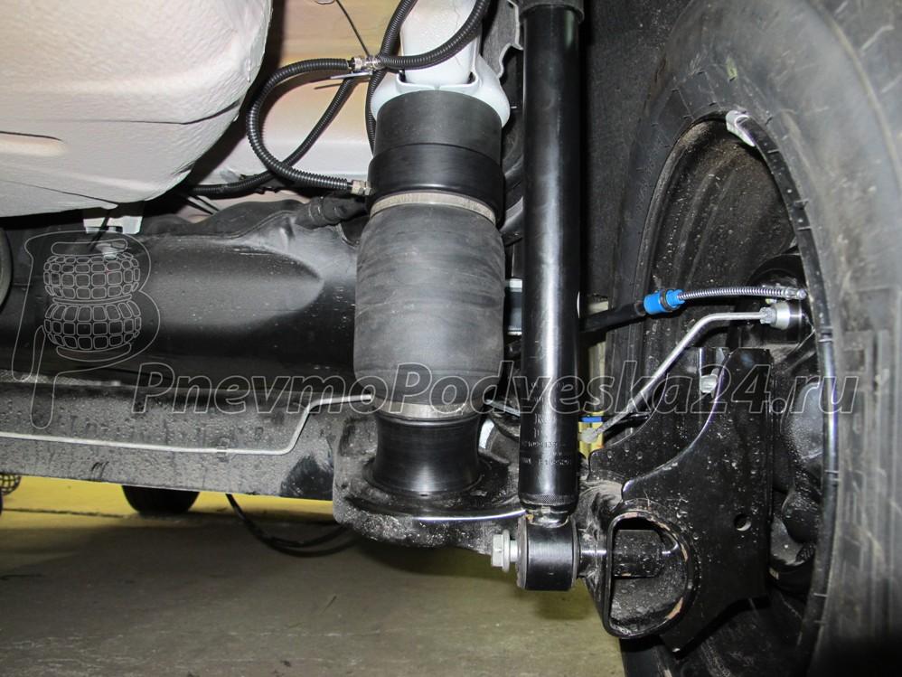 Пневмоподвеска задняя Лада Иксрей (Lada XRay) (задняя ось).