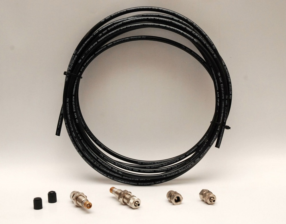 Комплект удлинения подкачки для пневмобаллонов в пружины 2 контура.